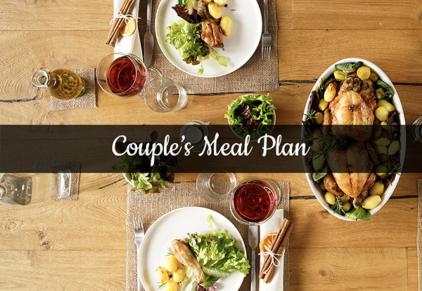 orlando couple meals plan