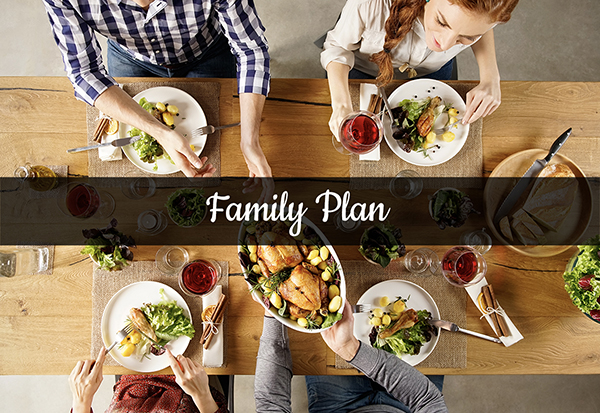 Orlando Family Meal Plan